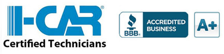I-CAR Certified Technicians and BBB A+ Mansfield TX